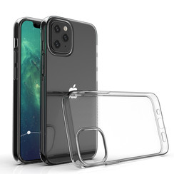 Apple iPhone 12 Mini Transparent Back cover case - TPU