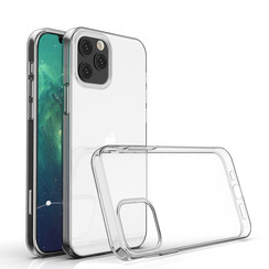 Apple iPhone 12-12 Pro Transparent Back cover case - TPU