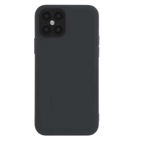 Andere merken Apple iPhone 12 Pro Max Black Back cover case - Ultra Thin