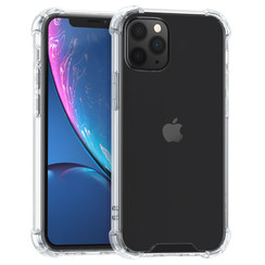 Apple iPhone 12 Transparant Backcover hoesje - Ultradun