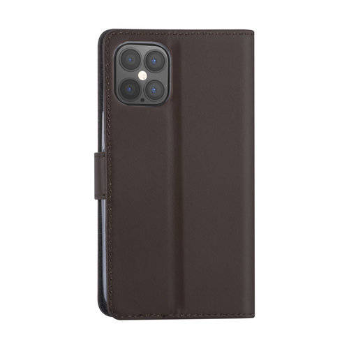 Andere merken Apple iPhone 12 Pro Max Brown Book type case - Card holder