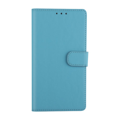 Andere merken Samsung Galaxy A01 Light blue Book type case - Card holder