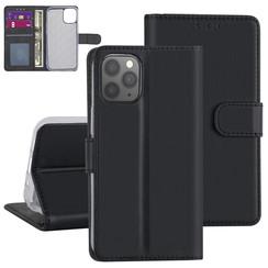 Apple iPhone 12 Pro Max zwart Booktype hoesje - Kaarthouder