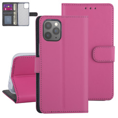 Apple iPhone 12-12 Pro Hot Pink Book type case - TPU