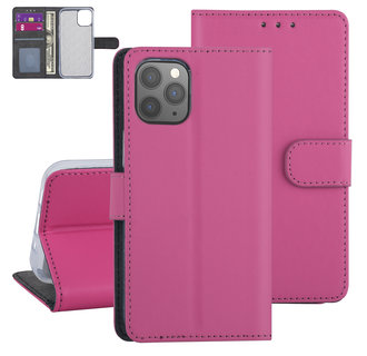 Apple iPhone 12-12 Pro Hot Pink Book type case - TPU