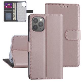 Apple iPhone 12-12 Pro Pink Book type case - TPU