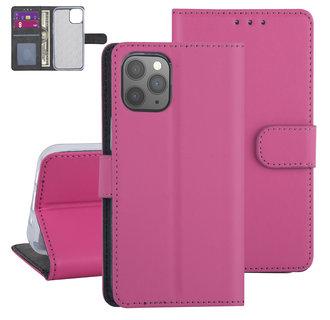 Apple iPhone 12 Mini Hot Pink Book type case - TPU