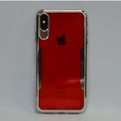 Apple iPhone X-Xs TPU Back cover case - Red