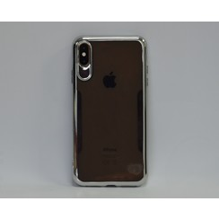 Apple iPhone Xs Max TPU Backcover hoesje - Grijs