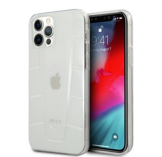 Mercedes-Benz Apple iPhone 12 / 12 Pro Transparent Back cover case - Transparent