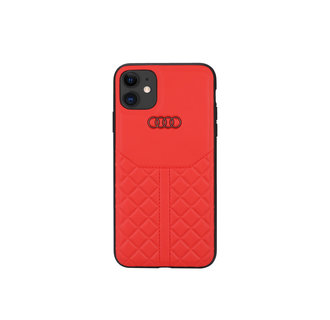 Audi Apple iPhone 11 Back cover case - Q8 Genuine Leather