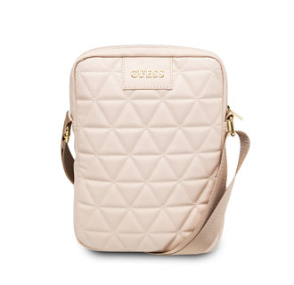 Guess 10 inch Pink Tablet bag - Quilted (GUTB10QLPK)