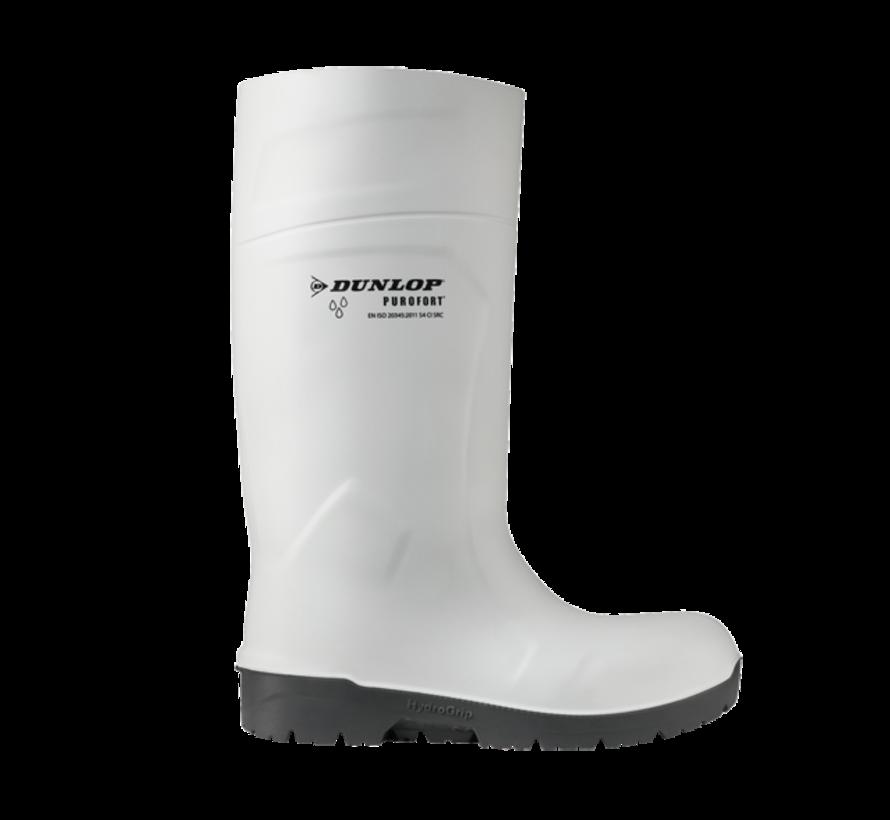 Dunlop Purofort knielaars wit S4 (CB71431)