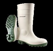 Dunlop Dunlop Protomastor Safety SB wit met groene zool