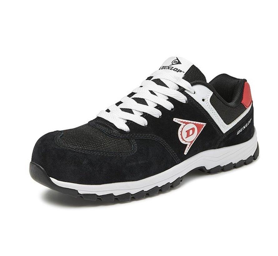 Dunlop Flying Arrow lage veiligheidssneaker zwart S3