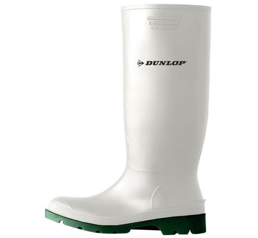 Dunlop Pricemaster wit laars (380BV) onbeveiligd