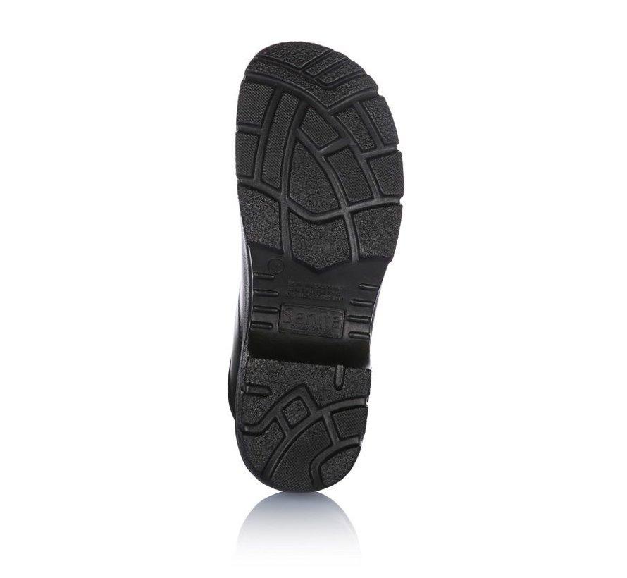 Sanita veiligheidsklompen Duty Griptec zwart model 3022 ProNose S3