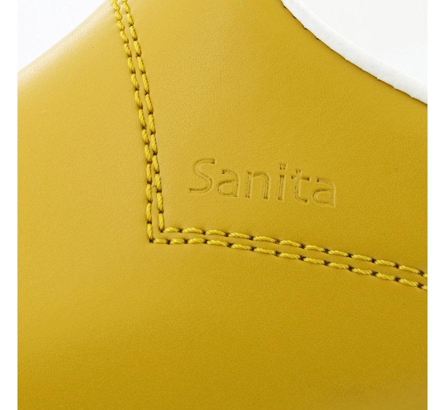 Sanita klompen Flex mosterdgeel model 314