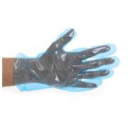 CMT PE handschoenen blauw 25my geruwd 5.000 stuks