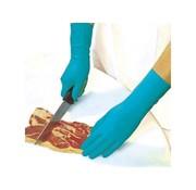 CMT Rubberen werkhandschoenen superior blauw 144 stuks