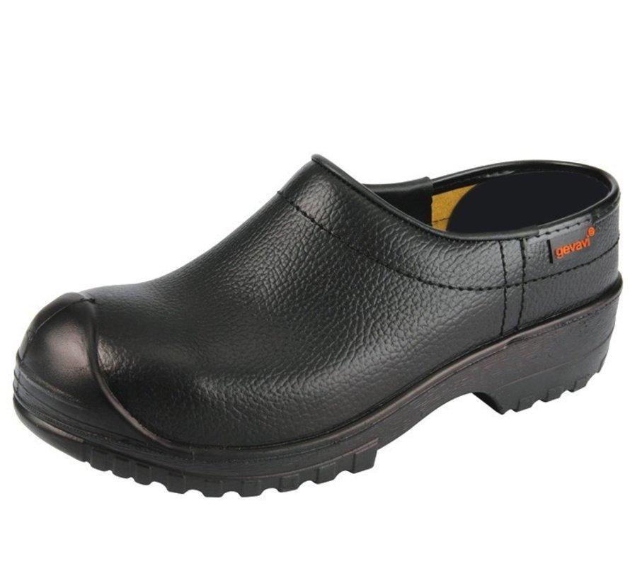 Gevavi Next 1250/00 gesloten flex schoenklomp PU SB zwart