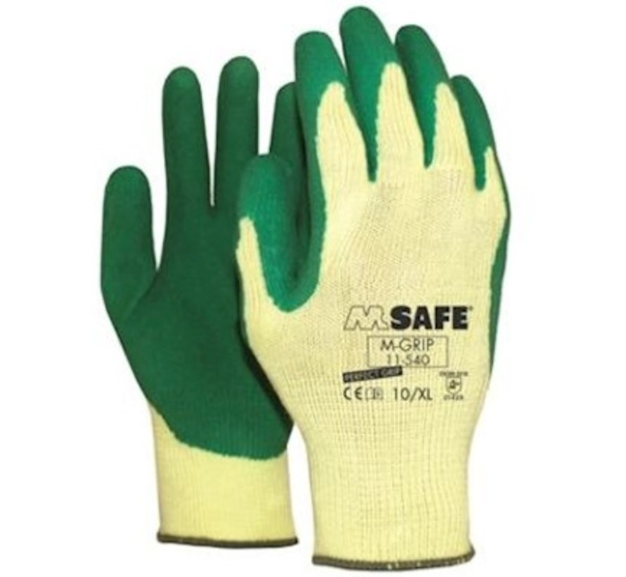 M-Safe M-Grip 11-540 werkhandschoenen maat 10/XL