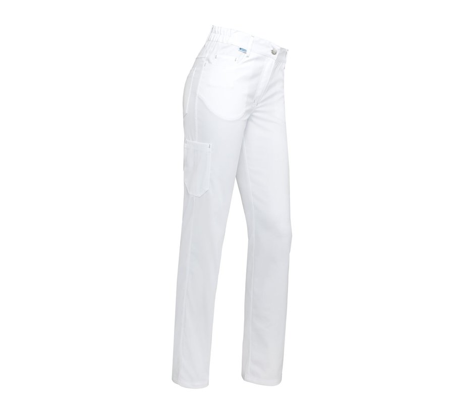 De Berkel De Berkel Tooske pantalon wit