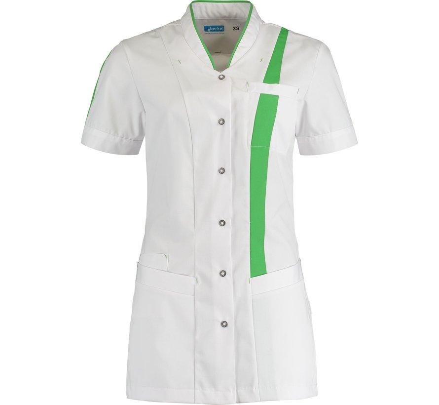 De Berkel Lara zorgjas wit groen