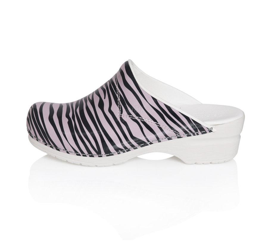 Sanita Sanita Flex Wildlife Zebra roze-zwart model 314