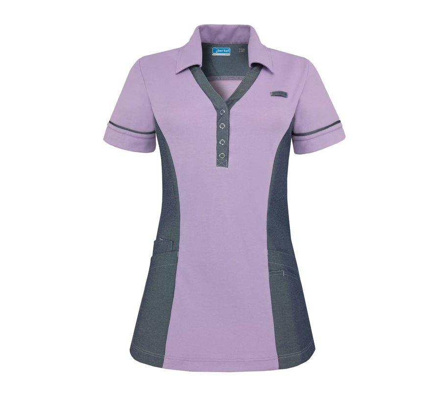 De Berkel Trix polo-shirt lila denim
