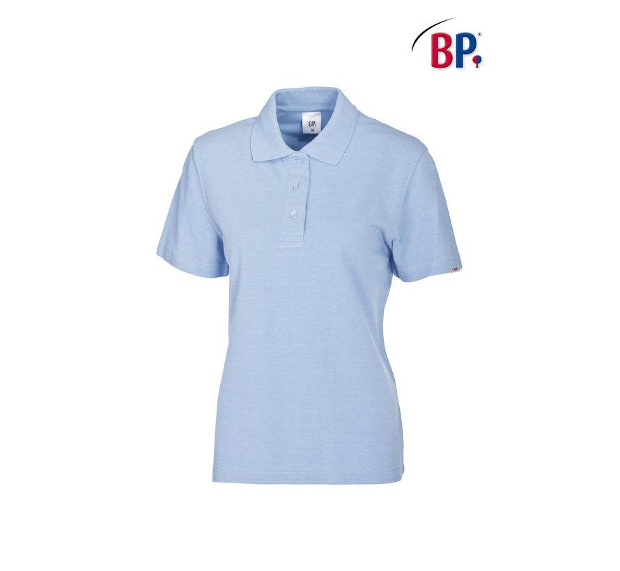 BP® 1648 Damespoloshirt lichtblauw