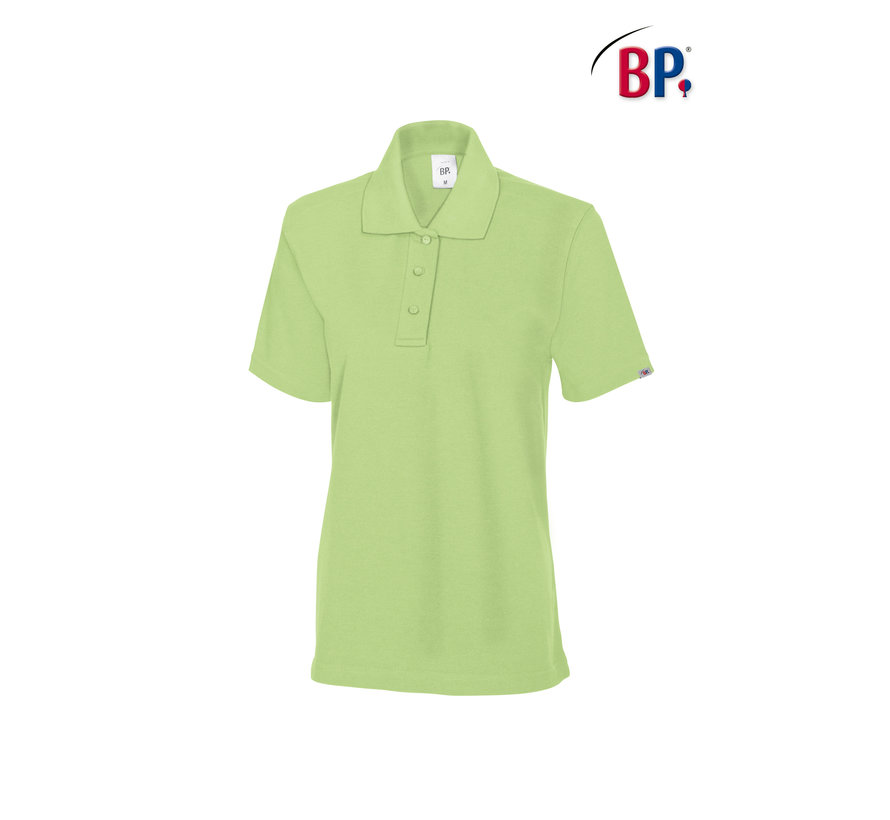 BP® 1648 Damespoloshirt lichtgroen