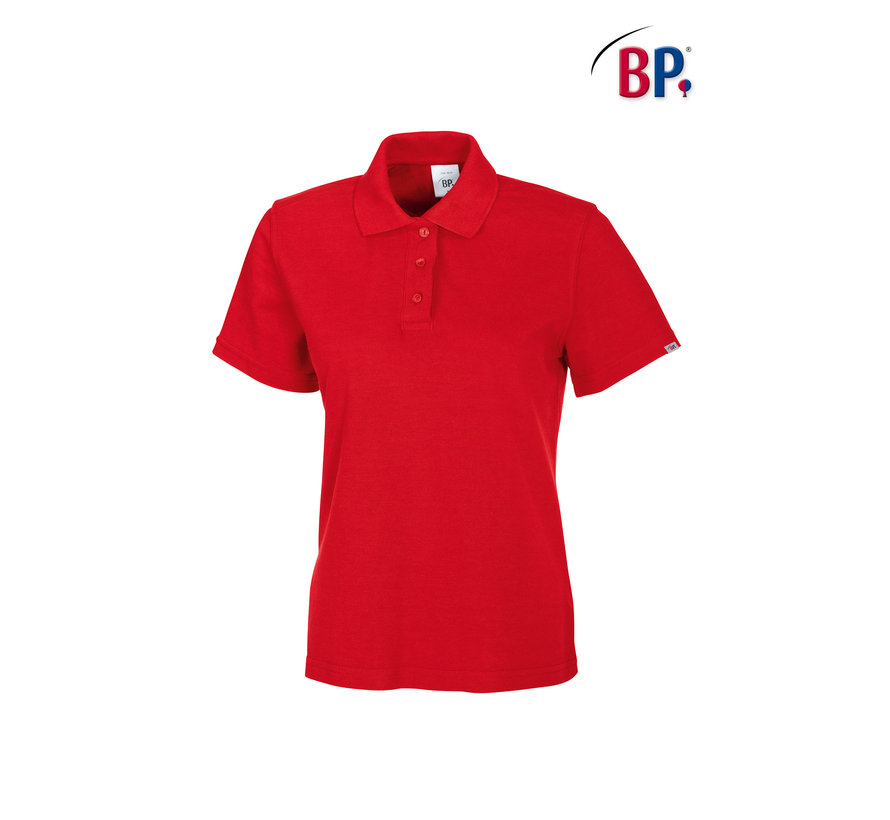 BP® 1648 Damespoloshirt rood