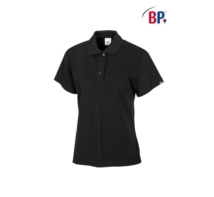 BP® 1648 Damespoloshirt zwart