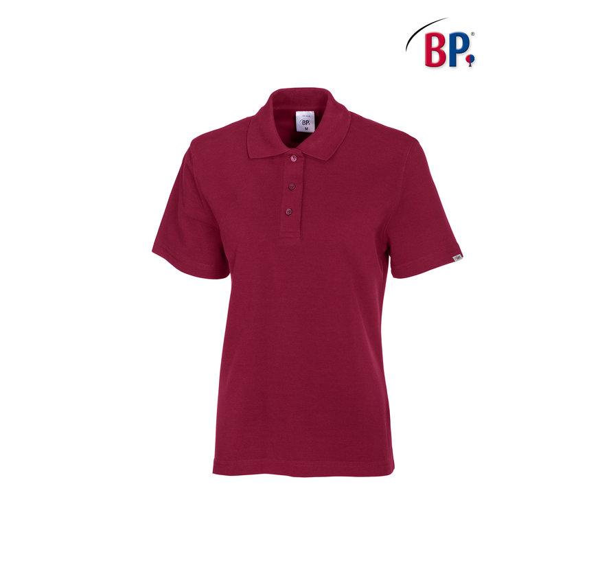 BP® 1648 Damespoloshirt bordeaux