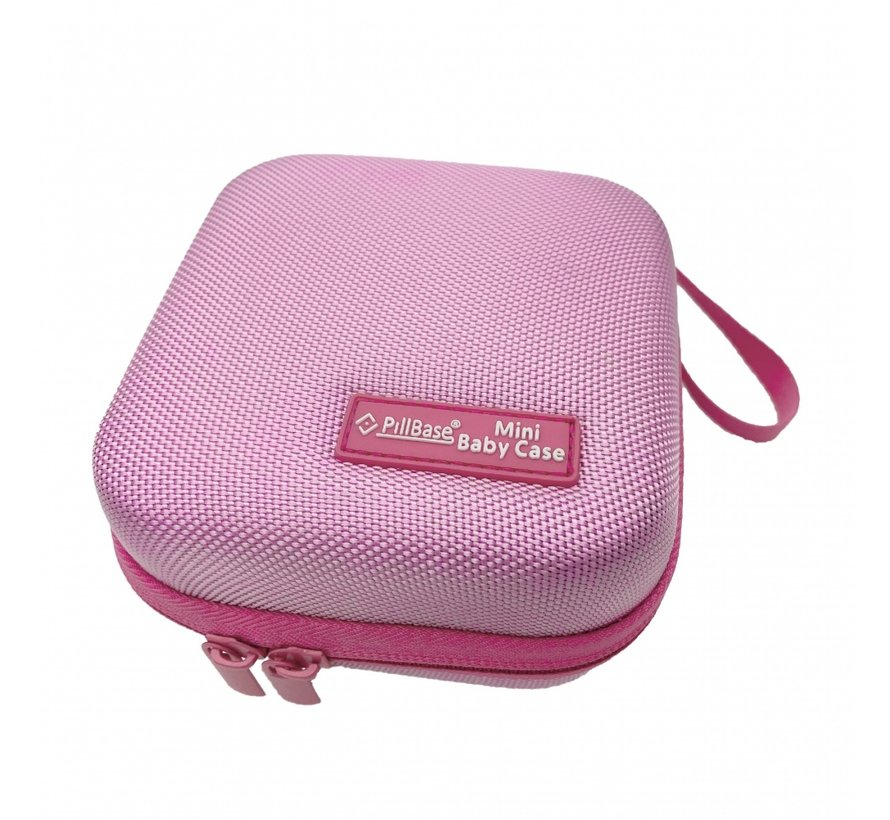Pillbase Baby Case klein roze