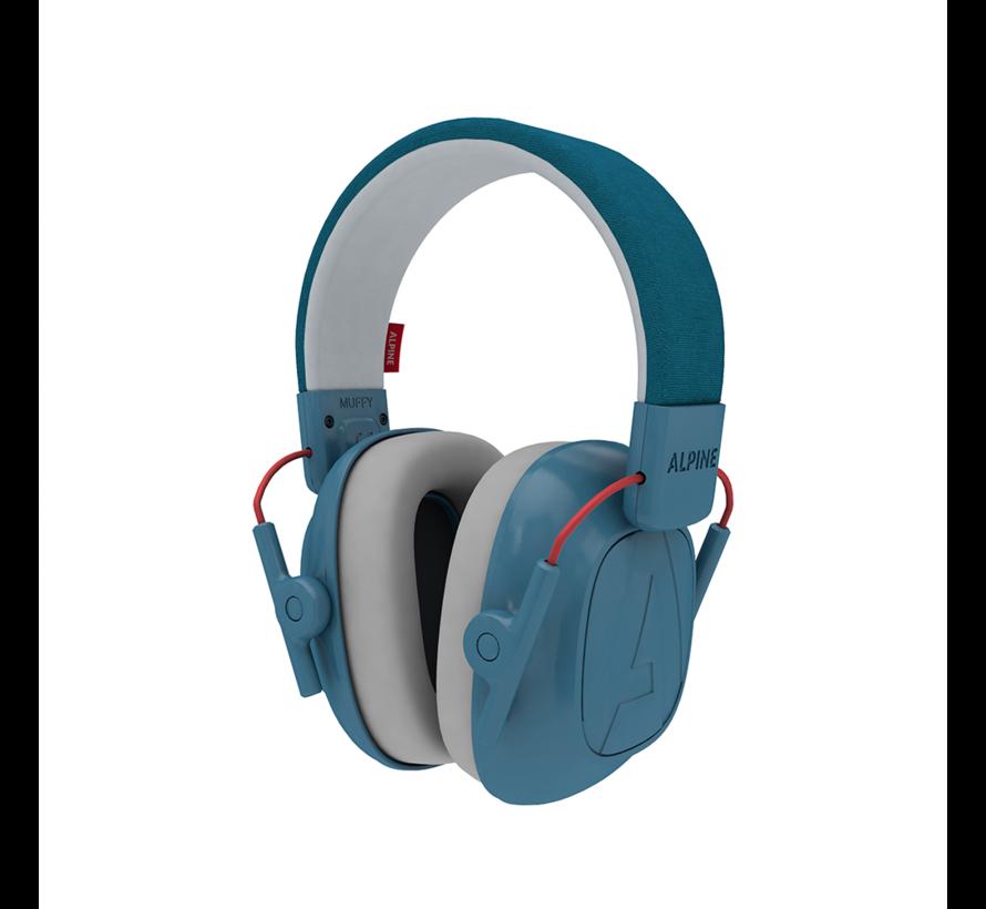 Muffy Kids oorkappen blauw
