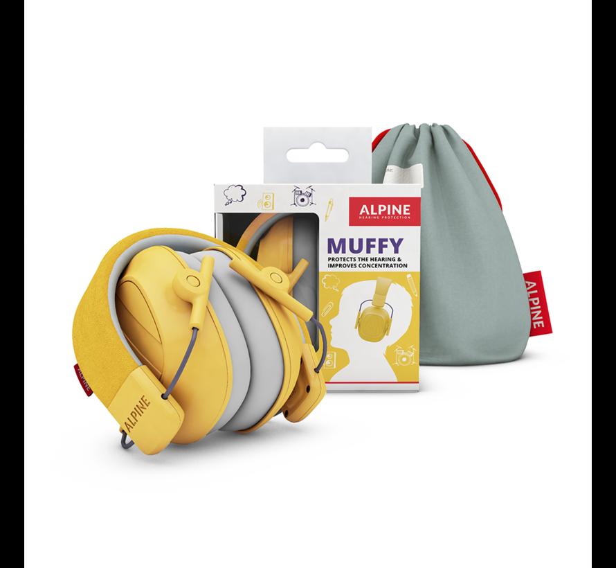 Muffy Kids oorkappen geel