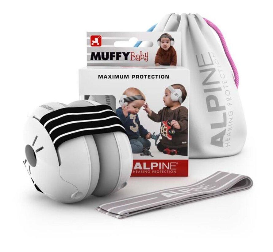 Muffy Baby oorkappen zwart