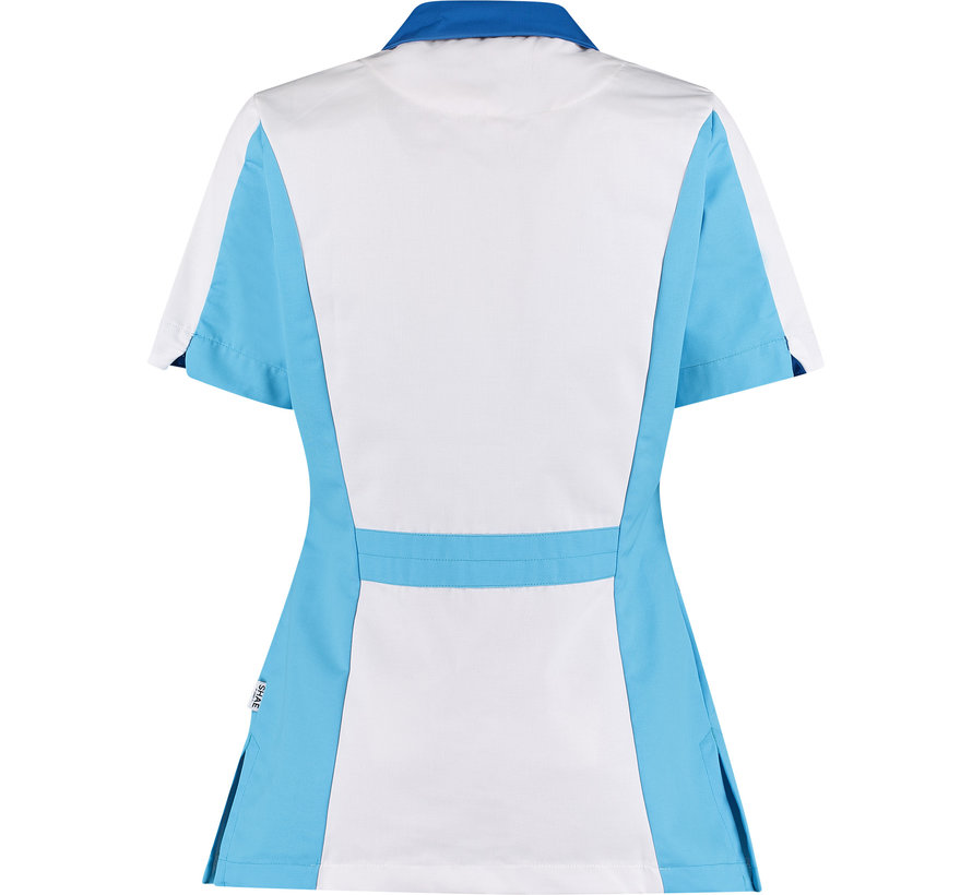 SHAE Care Luna dames tuniek wit blauw
