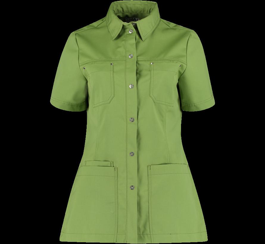 SHAE Care Claire dames tuniek groen