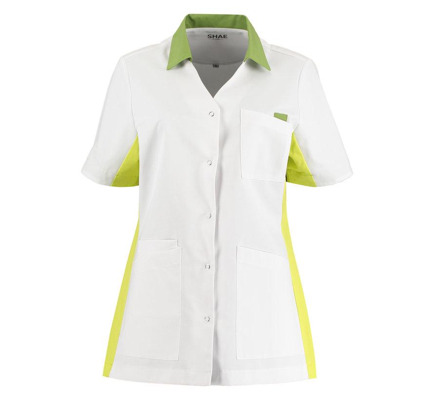 SHAE Care Luna dames tuniek wit groen