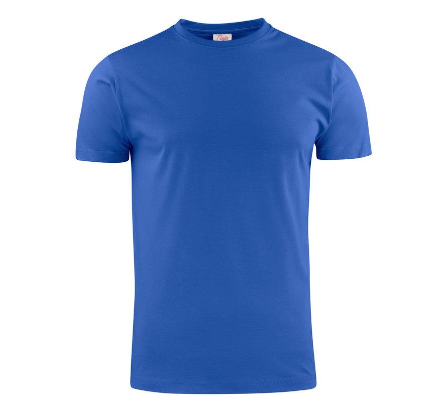 Printer Heavy t-shirt RSX ronde hals blauw
