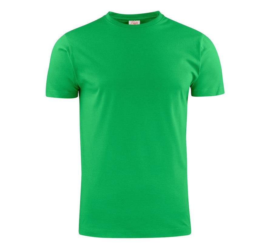 Printer Heavy t-shirt RSX ronde hals frisgroen