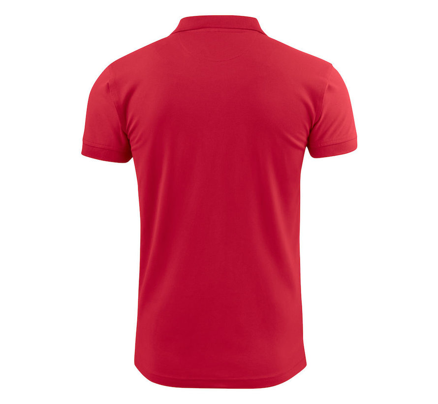 Printer Surf Stretch poloshirt rood