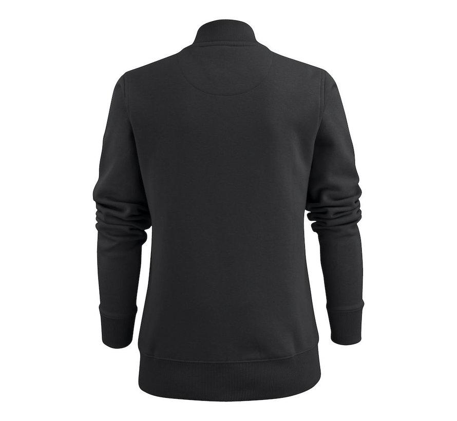 Printer Javelin sweatjacket  dames zwart