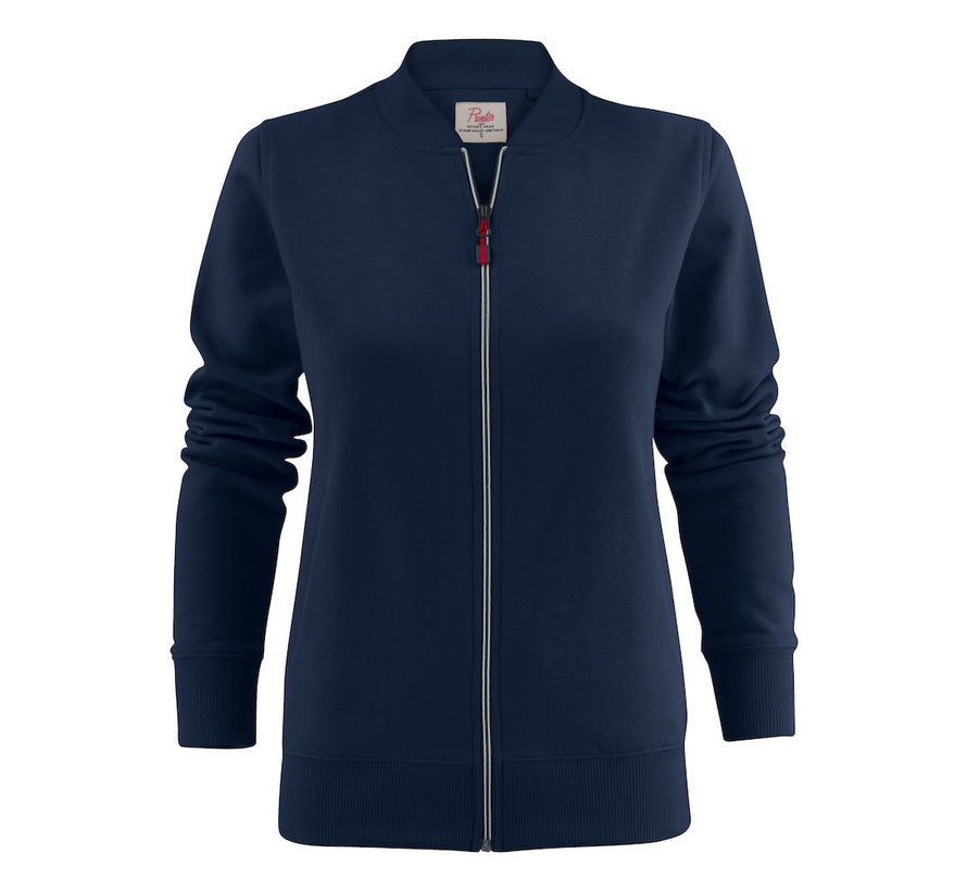 Printer Javelin sweatjacket dames marine