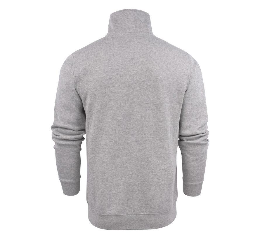 Printer Javelin sweatjacket RSX grijs mélée