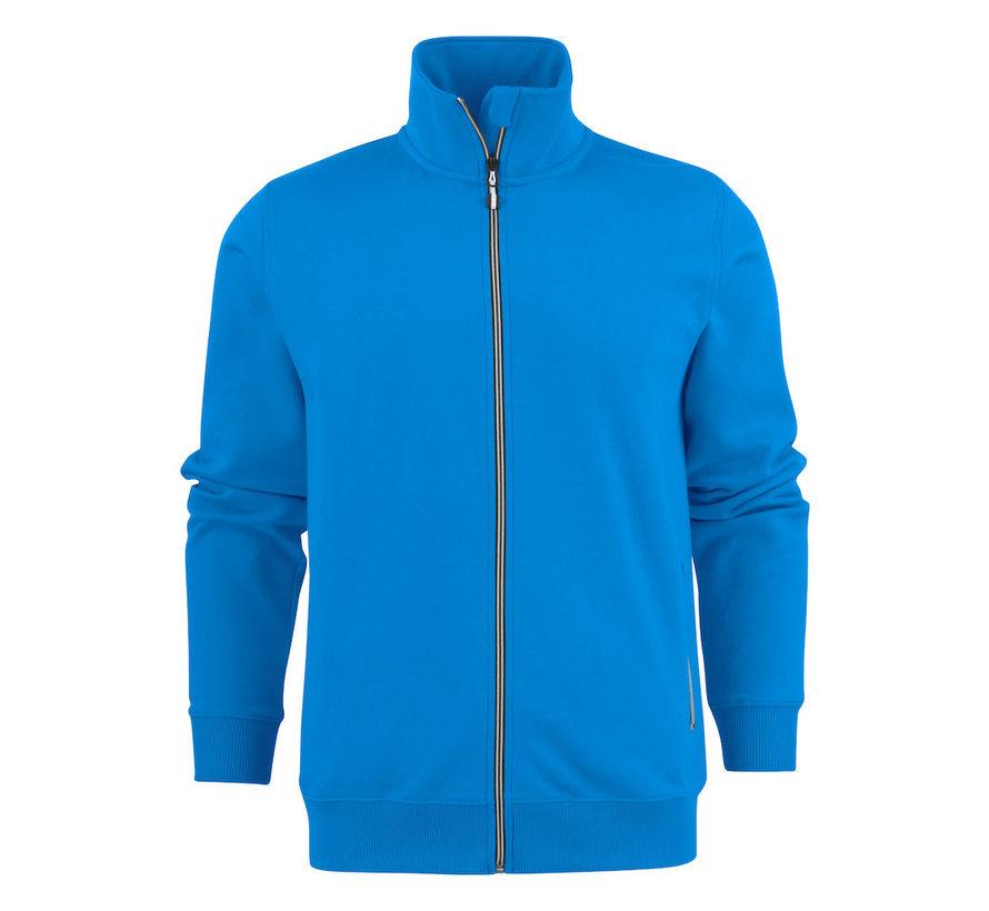 Printer Javelin sweatjacket RSX oceaanblauw