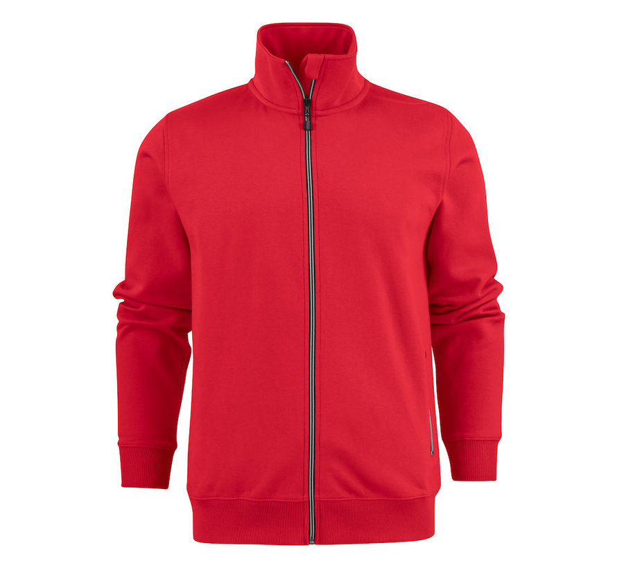 Printer Javelin sweatjacket RSX rood